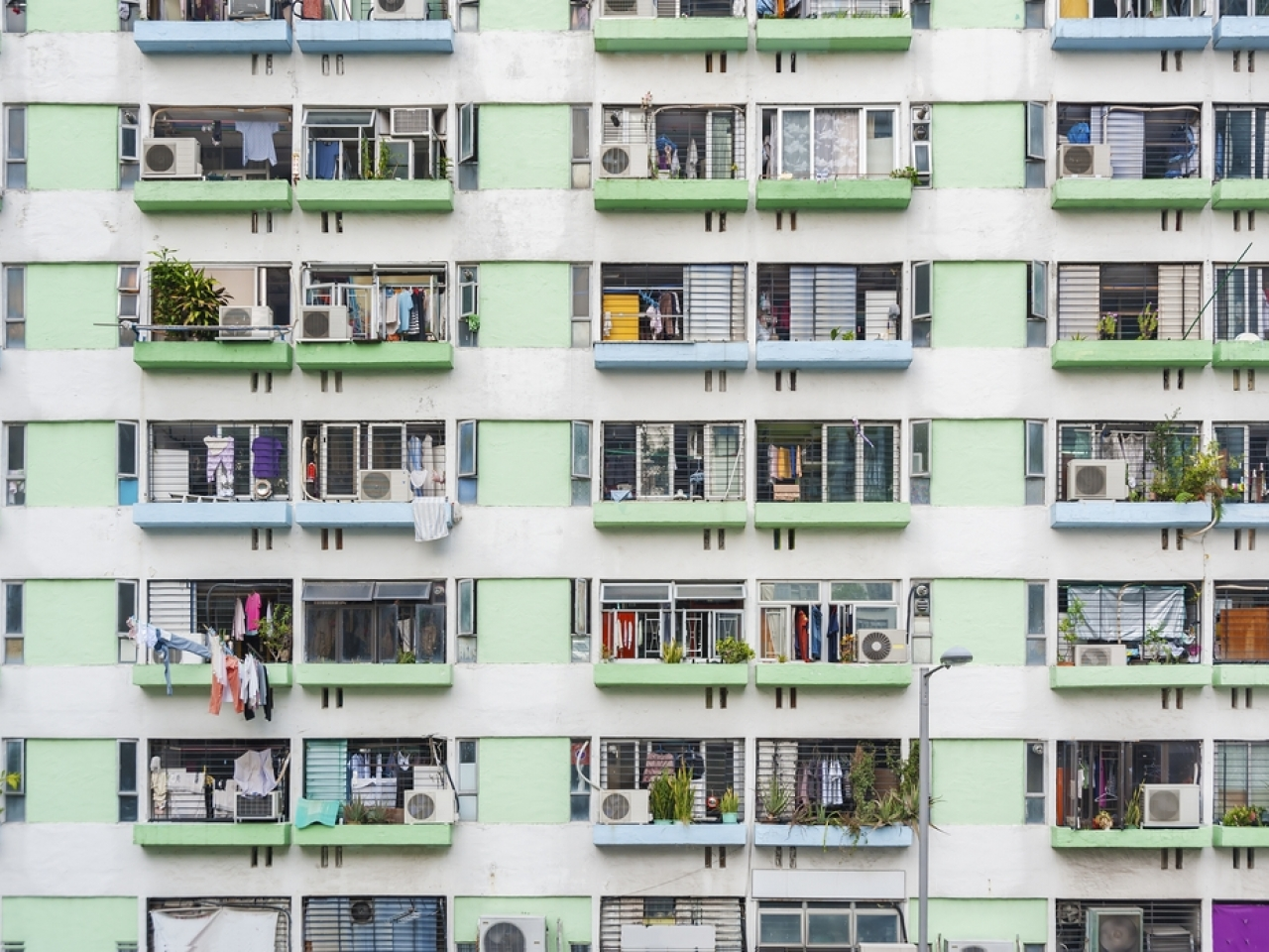 Lai Kin-kwok from the Subdivided Flats Concerning Platform told RTHK he was more optimistic that the process of building public flats could be sped up now that the government faced less opposition. Photo: Shutterstock
