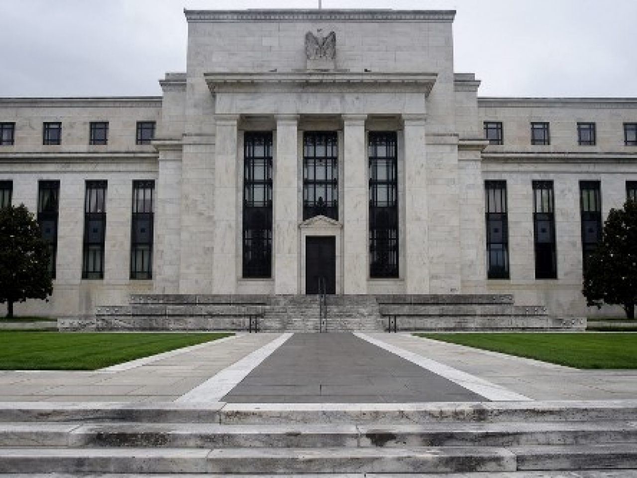 The US central bank currently buys US$80 billion in Treasury bonds and US$40 billion in mortgage-backed securities each month. Photo: AFP