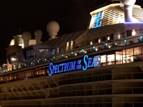 Spectrum of the Seas cruise grounded for 21 days