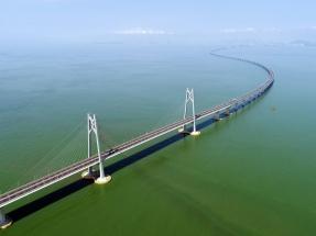 港珠澳大桥通车
